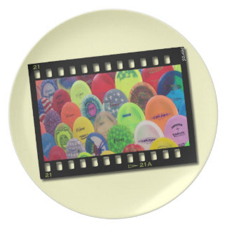 Film Strip Party Plates