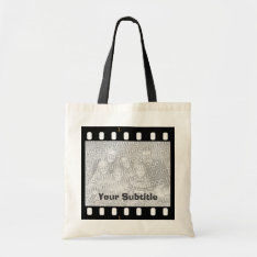 Film Strip Photo Frame Canvas Crafts & Shopping Tote Bag at Zazzle
