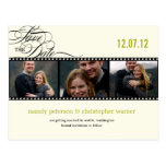 Film Strip Photo Save The Date Postcards