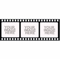 Film Strip Photo Sculpture Frame