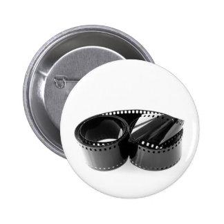 Film strip pinback button