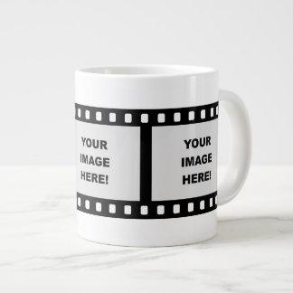 Film Strip Template Large Coffee Mug