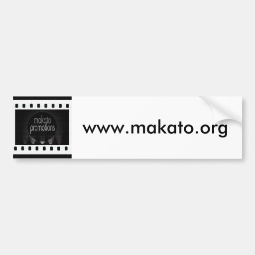film_strip, www.makato.org bumper stickers