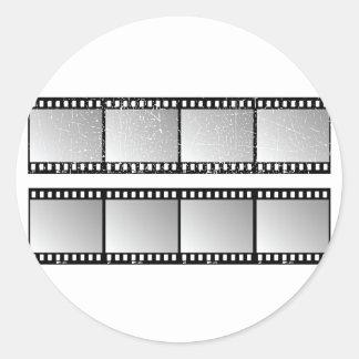 Film Strips Stickers