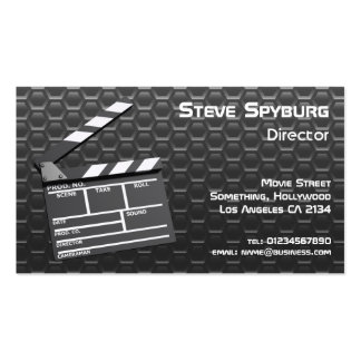 Film Studio Movie Clapperboard Business Card