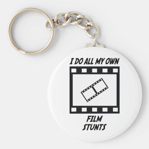 Film Stunts Keychains