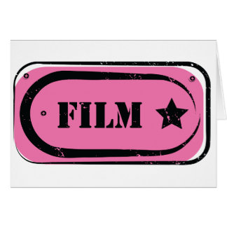 Film Ticket Note Cards