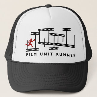 FILM UNIT RUNNER cap - unique retro design.