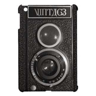 Filme caja del cromo de la cámara la mini del iPad