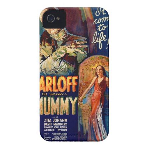 Filme el poster para la película 1932 la momia Case-Mate iPhone 4 protector