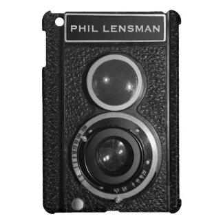Filme el vintage negro de la cámara su mini caso d