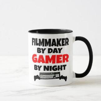 Filmmaker by Day Gamer by Night Mug