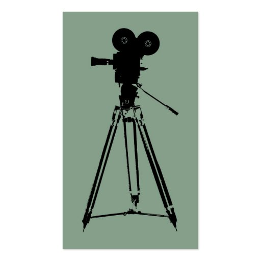 Filmmaker Director Business Cards