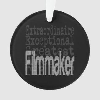 Filmmaker Extraordinaire Ornament
