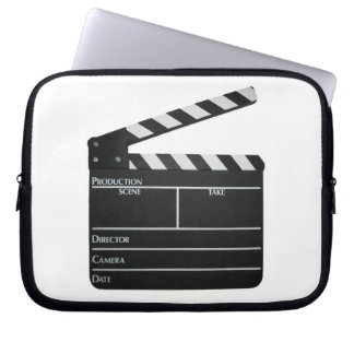 Filmmaker Film slate clapboard movie Laptop Sleeve