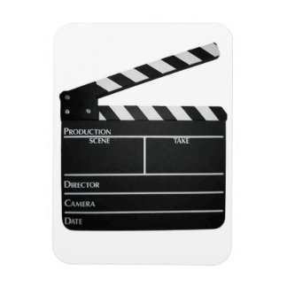 Filmmaker Film slate clapboard movie magnet