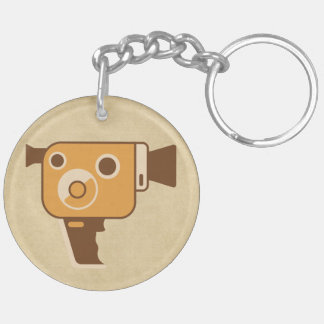 Filmmaker Movie Camera Keychain