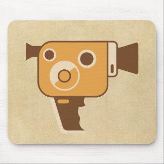 Filmmaker Movie Camera Mouse Pad