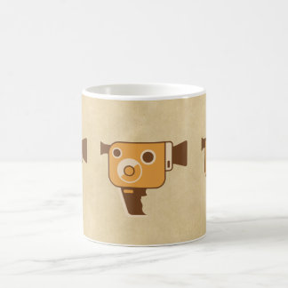 Filmmaker Movie Camera Classic White Coffee Mug