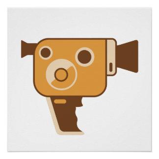 Filmmaker Movie Camera Perfect Poster