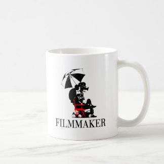 FILMMAKER CLASSIC WHITE COFFEE MUG