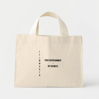 FILMMAKER Vertical - Tote Mini Tote Bag