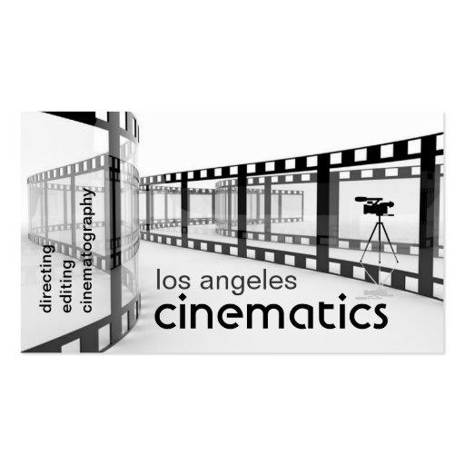 filmmaker's business card