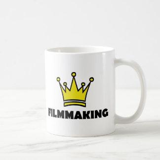 filmmaking fun shirt crown king coffee mug