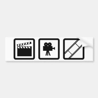 filmmaking gear car bumper sticker