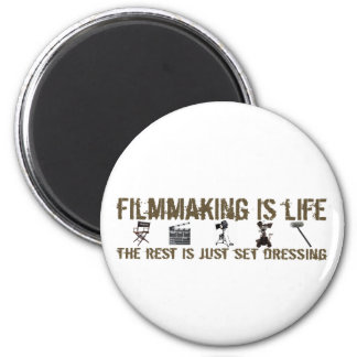 Filmmaking is Life 2 Inch Round Magnet