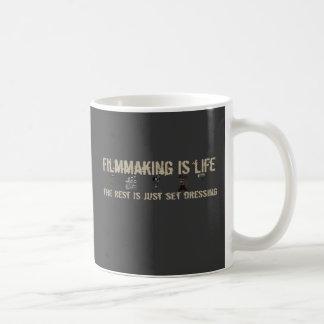 Filmmaking is Life Classic White Coffee Mug