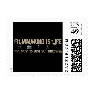 Filmmaking is Life Postage Stamp