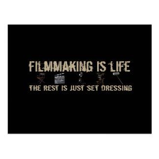 Filmmaking is Life Postcard