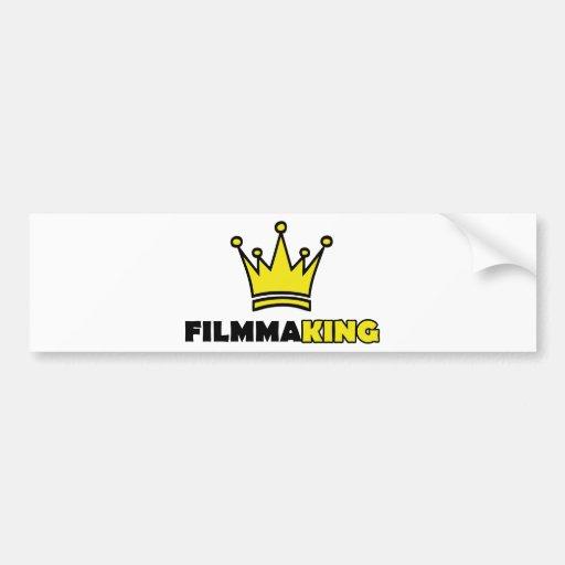 filmmaking KING director Bumper Stickers