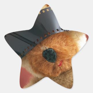 Filmophile Star Sticker