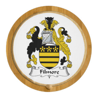 Filmore Family Crest Round Cheeseboard