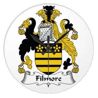 Filmore Family Crest Wallclock