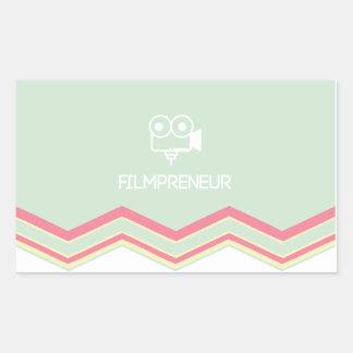 FILMPRENEUR :: Entrepreneur Lifestyle Art Sticker