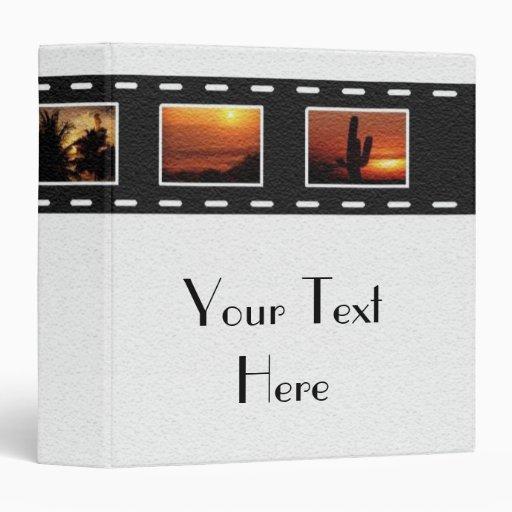 Filmstrip Avery Binder