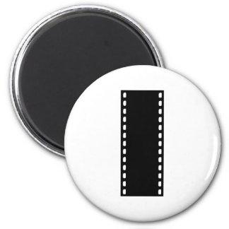 Filmstrip - Movie 2 Inch Round Magnet