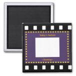 Filmstrip Picture Frame Refrigerator Magnet