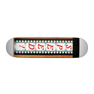 Filmstrip Skateboard