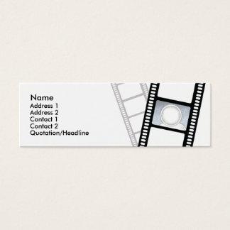 Filmstrip - Skinny Mini Business Card