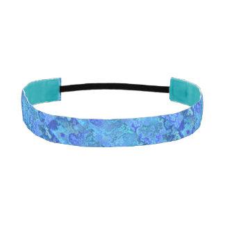 filón azul bandas de cabello antideslizantes