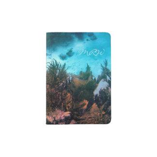 Filón de Bonairean con monograma Porta Pasaportes