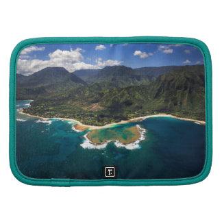 Filón de los túneles en la isla hawaiana de Kauai Organizador