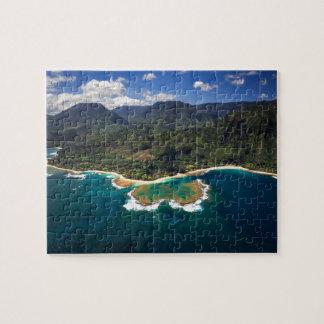 Filón de los túneles en la isla hawaiana de Kauai Puzzles