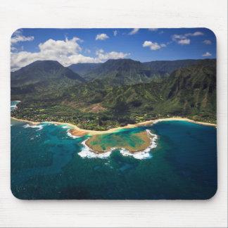 Filón de los túneles en la isla hawaiana de Kauai Tapetes De Raton