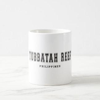 Filón Filipinas de Tubbatah Taza Básica Blanca