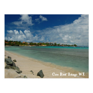 Filón Trinidad y Tobago W.I. de los Cocos Tarjeta Postal